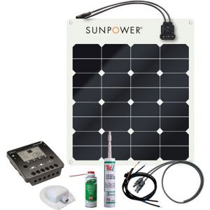 Solar Kit Sunpower SPR-E-Flex 50W/12V
